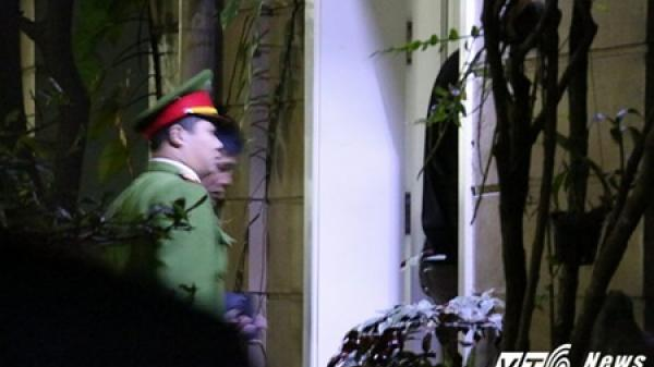 Toàn cảnh khám xét nhà riêng ông Đinh La Thăng