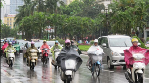 Thời tiết Trung Bộ chuyển sang mưa rét