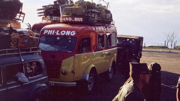 Loạt ảnh thú vị xe khách miền Nam thập niên 1960