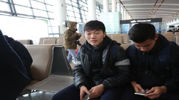 HOT HOT: Cập nhật hình ảnh các cầu thủ của U23 Việt Nam thân yêu trên chuyên cơ trở về nước