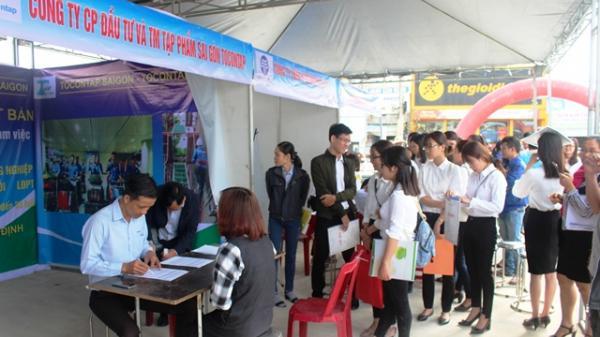 Sàn giao dịch việc làm Đại Lộc (Quảng Nam): Nhu cầu hơn 2.500 lao động