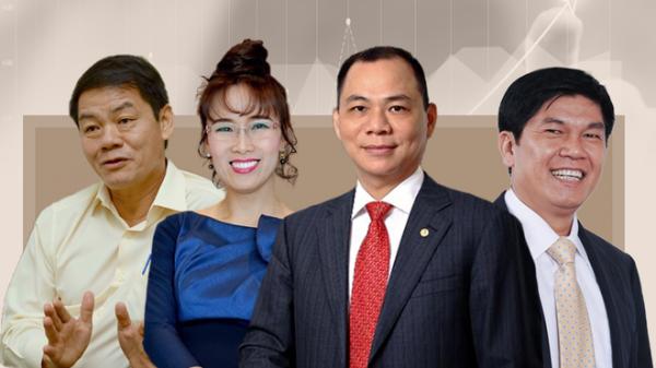 Việt Nam chính thức có 4 tỷ phú USD trong danh sách tỷ phú thế giới của Forbes