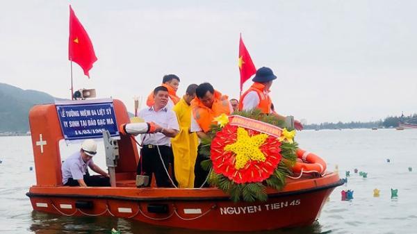 Lễ tưởng niệm 64 liệt sĩ Gạc Ma (Trường Sa): Các anh vẫn sống mãi cùng non sông