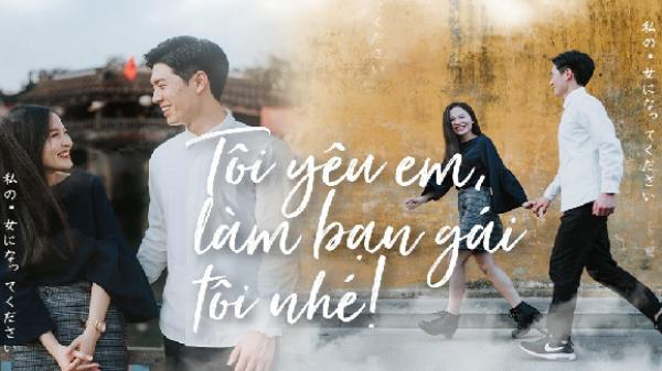 Bộ ảnh ở Hội An đẹp ngơ ngẩn của cô gái Việt và chàng trai Nhật: Để mặt mộc, mặc đồ ngủ đi siêu thị bỗng gặp ngay tình đầu đẹp như phim