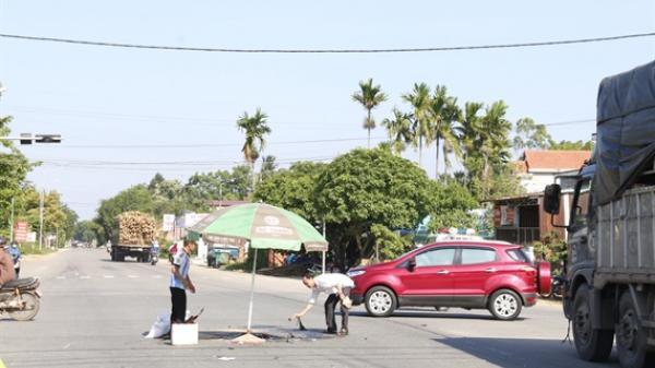 Tam Kỳ (Quảng Nam): Đèn tín hiệu không hoạt động, nam thanh niên chết thảm dưới bánh xe tải
