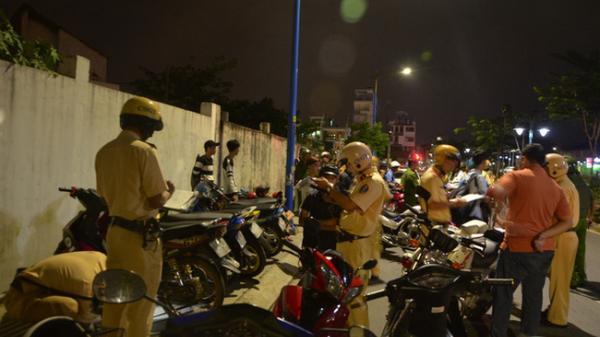 """Quảng Nam: Ngăn chặn nhiều vụ đua xe trái phép trên tuyến """"quốc lộ vùng Đông"""""""