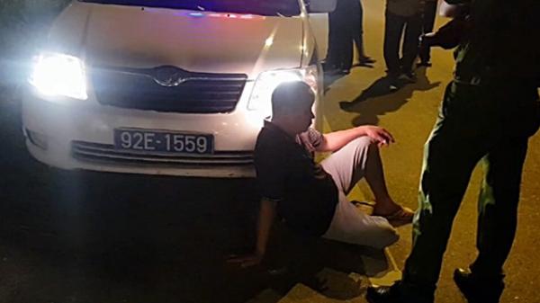 Quảng Nam: Tài xế xe tải không chấp hành hiệu lệnh còn xúc phạm CSGT