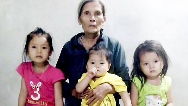 Quảng Nam: Vợ chồng cùng cùng bị ung thư, 3 con thơ ở với bà ngoại già yếu