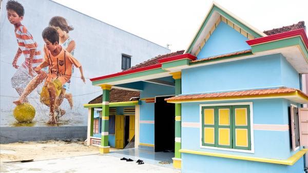 Rực rỡ 30 bức bích họa mới tại Làng bích họa Tam Thanh