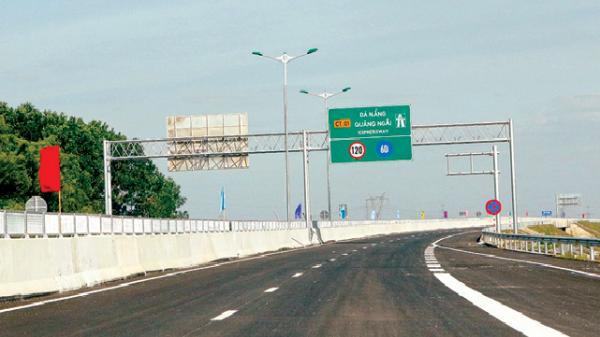 Thông xe cao tốc, rút ngắn 45 phút Đà Nẵng đi Tam Kỳ