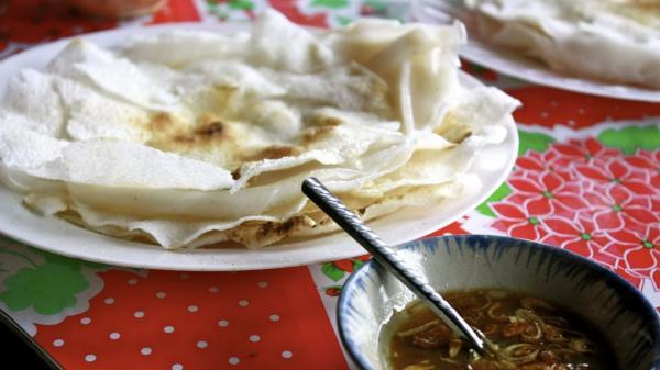 Hương vị quê nhà: Bánh tráng đập