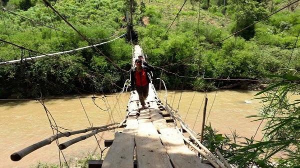 114 cầu treo ở Kon Tum đe dọa tính mạng người dân