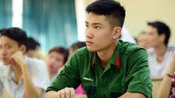 Các trường khối quân sự công bố điểm sàn xét tuyển