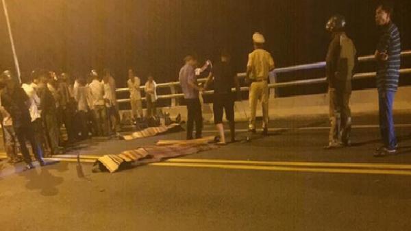 Duy Xuyên (Quảng Nam): Va chạm xe máy trên cầu Giao Thủy, 2 người chết tại chỗ