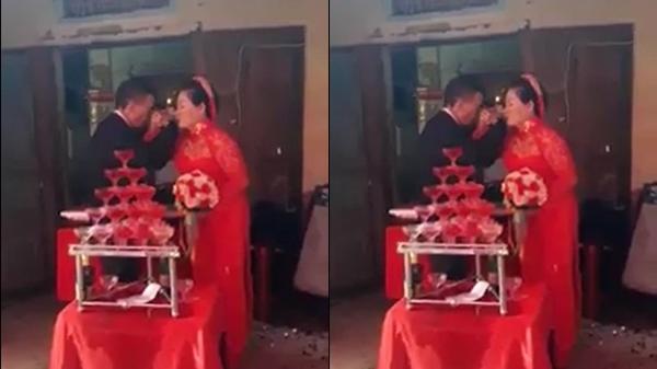 Hạnh phúc tuổi xế chiều của chú rể 75, cô dâu 64 bẽn lẽn trong ngày cưới