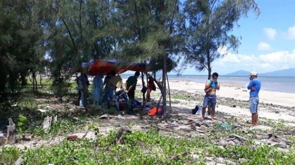 Quảng Nam: Bàng hoàng phát hiện t.hi t.hể người đàn ông trôi nổi trên biển