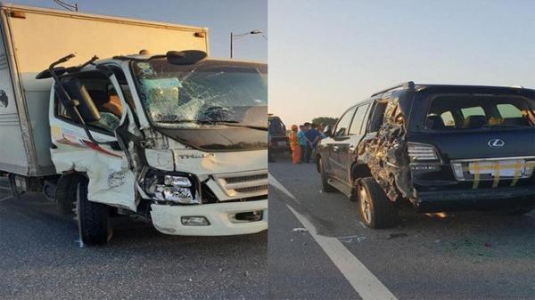 Lý giải bất ngờ của tài xế xe tải, vì sao đâm xe Lexus biển tứ quý 8