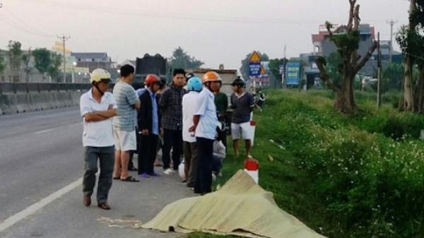 Kinh hoàng: Phát hiện nam thanh niên tử vong trong tư thế tay ôm đầu bên quốc lộ 1A