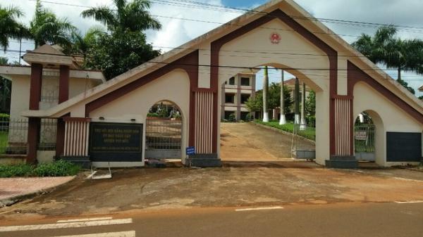 Đắk Nông: Chủ tịch huyện bị điều chuyển về làm việc ở công viên