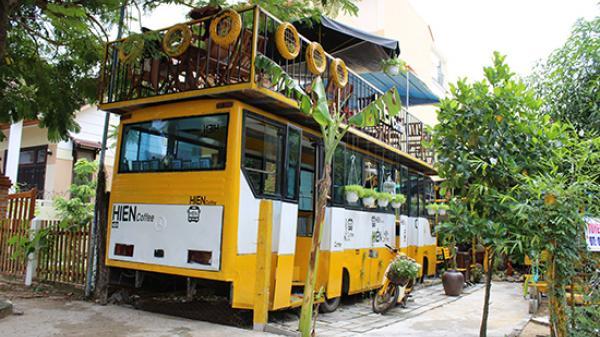 Về Hội An thưởng thức cà phê xe buýt