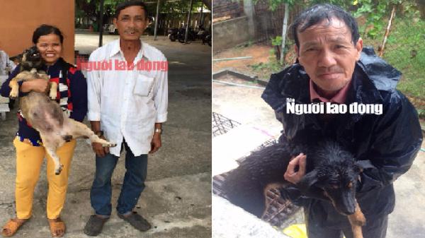 """Núi Thành (Quảng Nam): Bắt 3 """"cẩu tặc"""", hơn 10 người xúc động, bật khóc khi nhận lại chó"""