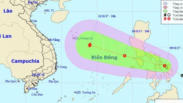 Kịch bản xấu nhất: Miền Trung có thể hứng chịu cơn bão số 13