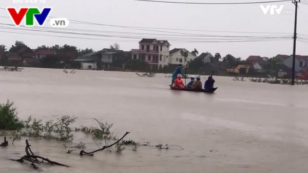 Công điện khẩn yêu cầu các tỉnh miền Trung ứng phó với mưa lũ