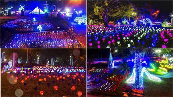 Ngay gần Cần Thơ xuất hiện lễ hội ánh sáng hoành tráng chưa từng có trong lịch sử