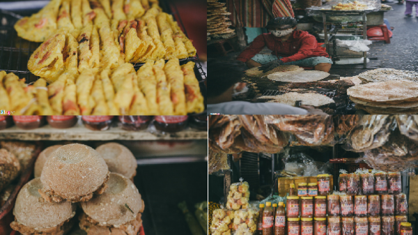 Chợ đặc sản miền Trung độc đáo giữa lòng Sài Gòn