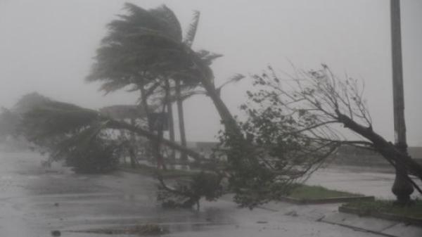 Đêm nay, bão số 16 sẽ đi vào đất liền, Bắc - Trung bộ mưa to đến rất to