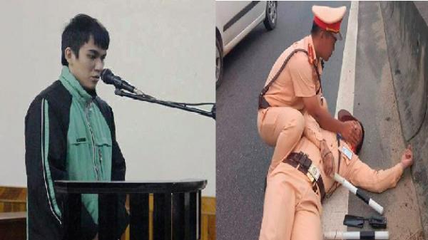 Tài xế hất văng CSGT xuống đường bị thương nặng lĩnh án 10 năm tù