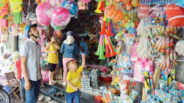 Thị trường đồ chơi trẻ em: Hàng Trung Quốc tràn ngập