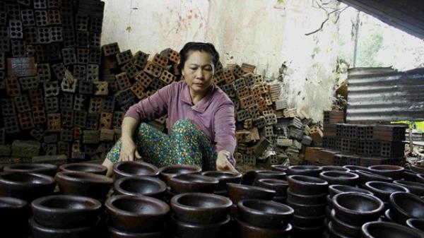 """Bình Sơn (Quảng Ngãi): Ở làng gốm """"chỉ còn một người"""""""