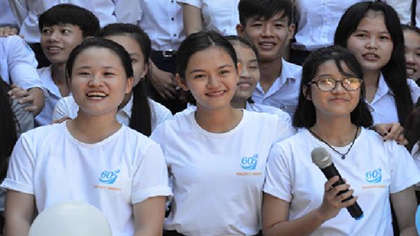 Nữ sinh giành 12 học bổng Mỹ dạy hè trên đảo Lý Sơn