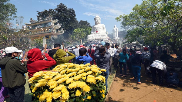 Quảng Ngãi: Đầu xuân dự Lễ húy kỵ đệ nhất Tổ sư khai sơn Tổ đình Thiên Ấn