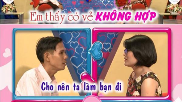 Chàng trai Quảng Ngãi bị chê vô duyên khi từ chối cô gái ở 'Bạn muốn hẹn hò'