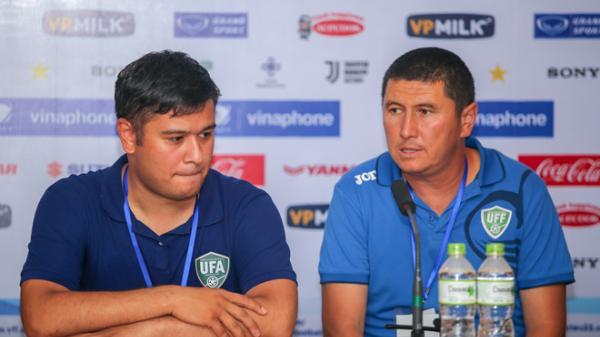 Thua Palestine, HLV Uzbekistan thừa nhận yếu hơn Olympic Việt Nam