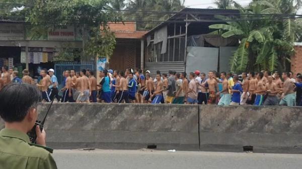 Nóng: Hàng trăm học viên cai nghiện ma túy trốn trại