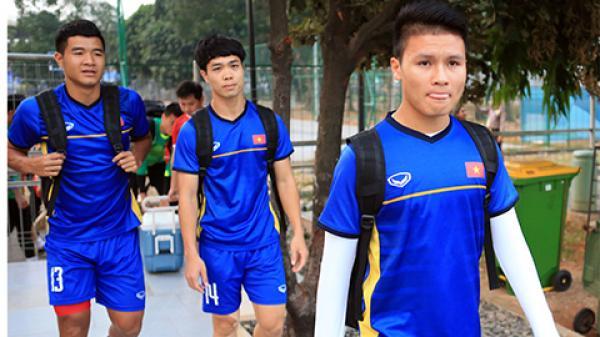 Đội hình Olympic Việt Nam đá với Syria: Công Phượng, Xuân Trường sẽ dự bị?