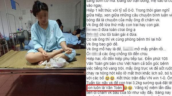 Con trai sinh đúng ngày Olympic Việt Nam giành chiến thắng, ông bố đặt ngay tên con là Văn Toàn