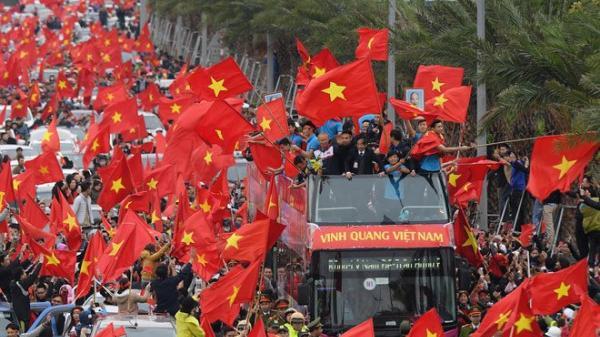 Chuyên cơ riêng đón U23 Việt Nam về nước, mừng công ở Mỹ Đình trong ngày 2/9