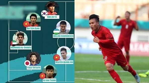 Công bố đội hình tiêu biểu nhất ASIAD, Olympic VN góp 3 cầu thủ, bỏ xa Hàn Quốc và Nhật Bản