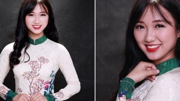 Nữ sinh quê Quảng Ninh chuẩn 'con nhà người ta': Đã xinh như hoa còn 'bày đặt' học giỏi 'hết phần thiên hạ'