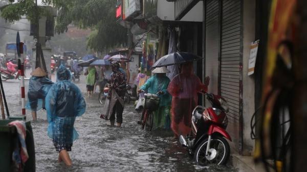 Dự báo thời tiết 13/9: Bão chồng siêu bão, Bắc Bộ hứng mưa to