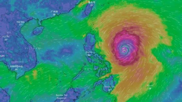 KHẨN CẤP: Siêu bão Mangkhut gây sóng cao 14m, có thể ảnh hưởng trực tiếp đến 27 tỉnh thành