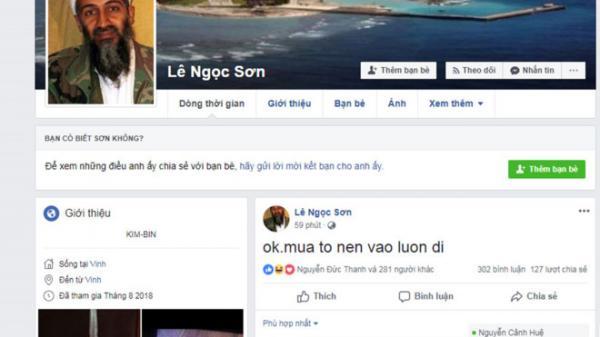 Nghi phạm bị vây bắt đăng facebook thách thức công an khi cố thủ trong nhà