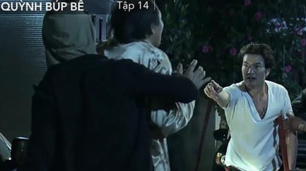 Cảnh chính thức tạo phản, kề dao bắt ông Cấn làm con tin, giải cứu Quỳnh ngoạn mục trong đêm