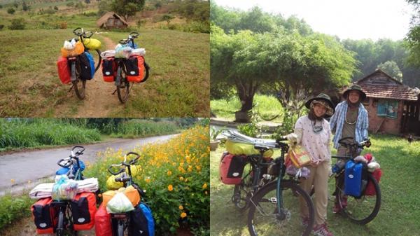 Chọn xuất phát giờ đẹp, cặp vợ chồng 9X quyết tâm đạp xe chinh phục 63 tỉnh thành Việt Nam