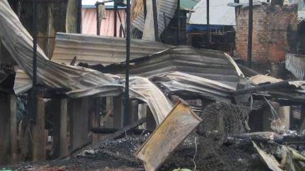 Đồng Tháp: Cháy lớn thiêu rụi căn nhà gây thiệt hại trên trăm triệu đồng