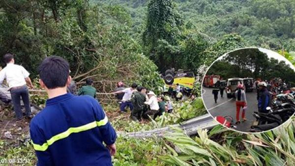 Tai nạn kinh hoàng: Xe khách đổ đèo 23 người bị n.ạn, hiện chưa rõ số người c hết